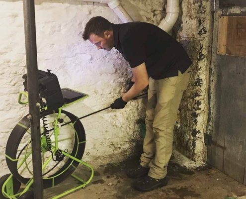 sewer camera inspection in Wyoming, OH